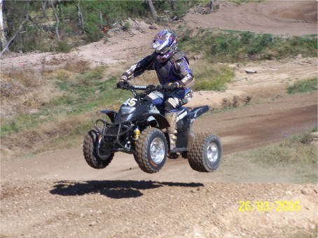 Phil Ede #45 Yamaha ATV Series Champion